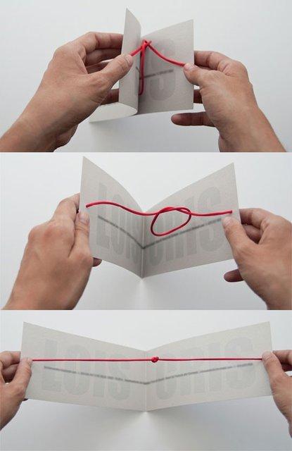 Cartão de casamento criativo...