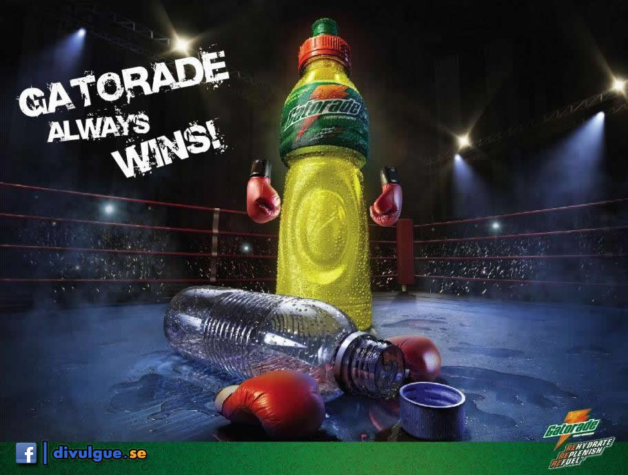 Gatorade. Always Wins...