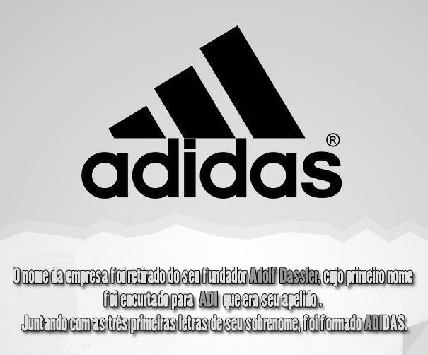 Qual a origem do nome Adidas ?
