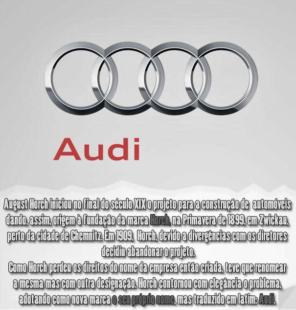 Qual a origem do nome Audi ?